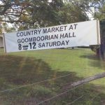 Goomboorian Memorial Hall Markets